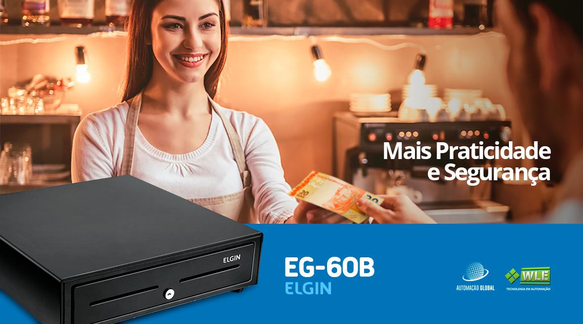 Gaveta para Dinheiro Elgin EG-60B