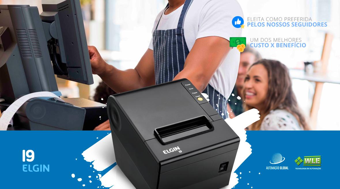 Impressora Térmica Elgin i9 Não Fiscal