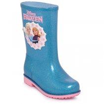 Imagem - Bota Infantil Grendene Disney Galocha Vidro Glitter Prata/Rosa - 017054500131430
