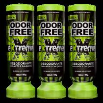 Imagem - Desodorante Para Pés Odor Free Kit C/ 3 Palterm Verde