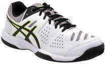 Imagem - Tênis Indoor Masculino Asics Gel-Dedicate 4a White/Black/Yellow - 001033400011845