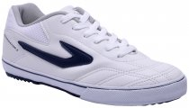 Imagem - Tênis Indoor Masculino Topper Dominator 3 Branco/Azul - 019001200220005
