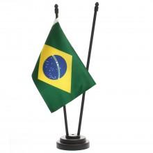 Bandeira de Mesa Brasil + Personalizada