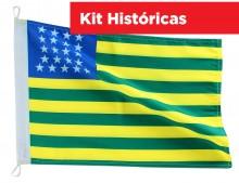 Kit Bandeiras Historicas
