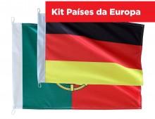 Kit Continente Europeu