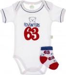 Body Para Bebê Adventure 6631