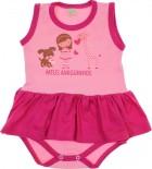 Body Vestido - Bebê amor Pet REF. 5735