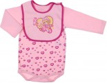 Body e Babador de Bebê Girl 6505