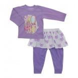 Calça e Camiseta Bebê Charminho 5746
