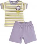 Conjunto Bebê Camiseta e Shorts Zig Mundi-7155