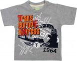Camiseta Infantil Manga Curta  Estampada- ref. 6228