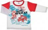 Camiseta Infantil Manga Longa Estampada REF. 6043