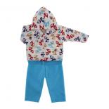 Conjunto de Soft para Beb� Estampado - 8990