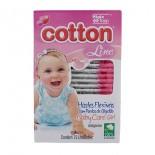 Cotonetes Hastes Flex�veis Baby Care 75 un. - 9731