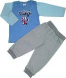 Conjunto de Calça de Sarja e Camiseta College- ref. 5624