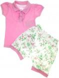 Conjunto de Shorts e Camiseta - Bebê Flor REF. 5617