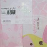 Fronhas para Travesseiro de Bebê Filhotes Friends 5436