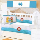 Kit Berço para Bebê Alfabeto 9 Peças 8744