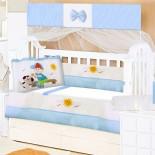 Kit Berço para Bebê Amiguinhos 9 Peças 8745