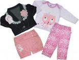 Kit Infantil para Meninas - Look completo - Ref. 6974