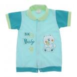 Macac�o Curto para Beb� Menino 9834