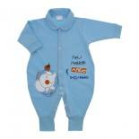 Macac�o de Beb� Azul Amigos 9828