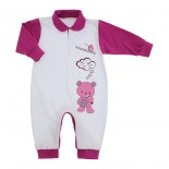 Macacão Longo para Bebê Menina Lapuko