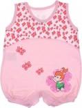 Macacão Regata para Bebê Pedrita - 6537