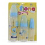 Mamadeiras Fiona Azul 3 pcs - 8879