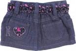 Mini Saia Jeans para Bebê - Onça REF. 6748