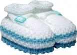 Pantufa de Lã Para Bebê Ref. 5167