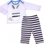 Pijama para Bebê - Estampado Zig Mundi REF. 6704