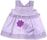 Vestido de Bebe - Palminha Baby REF.  2897