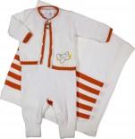 Sa�da de Maternidade Artesanal em Linha Avi�o REF. 6299