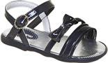 Sandália para bebê c/ lacinho de Verniz- ref. 4592