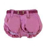 Shorts Balonê Menina Rosa 8622