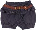 Shorts Jeans Infantil com Cinto charme - 6333