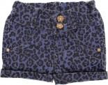Shorts Jeans Infantil Onça - 6336