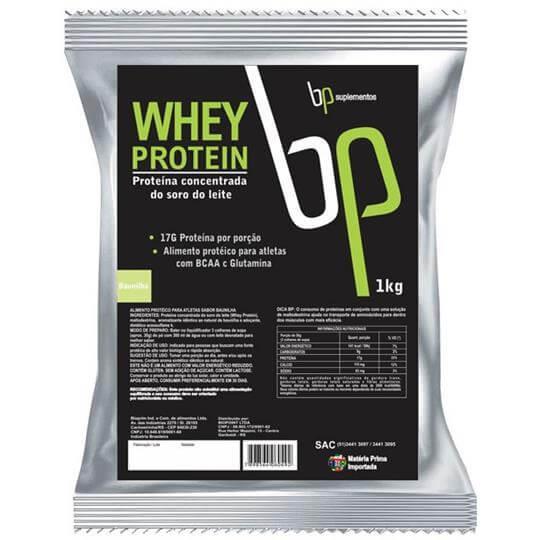 Whey Protein (1kg) (Refil) - BP Suplementos
