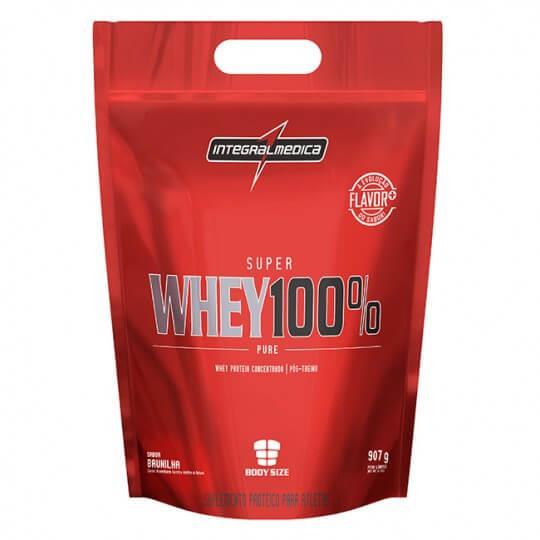 Super Whey 100% Pure (Saco 907g) - Integralmédica