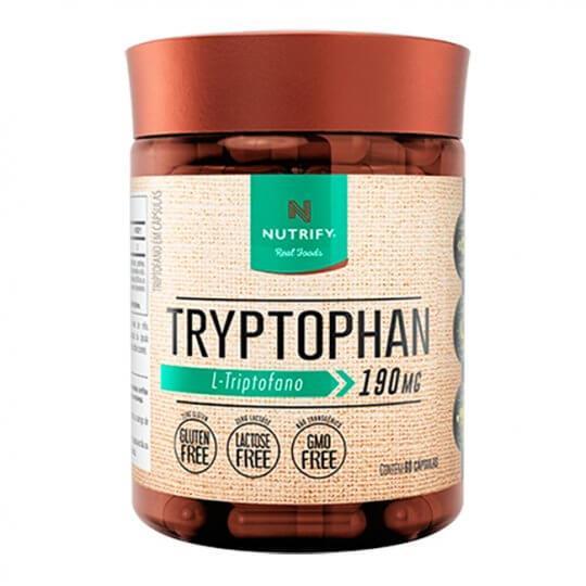 Tryptophan (Triptofano) (60caps) - Nutrify Real Foods