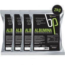 Kit 4 Albumina Pura (500g) - BP Suplementos (Total: 2kg)