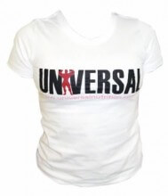 Camiseta Baby Look Universal Feminina - Branca - Universal Nutrition