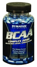 BCAA Complex 2200 (200caps) - Dymatize Nutrition