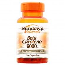 Betacaroteno 6000 UI (60 Cápsulas) - Sundown