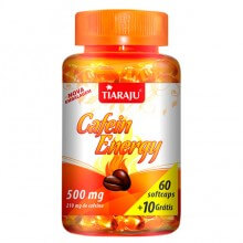 Cafein Energy 210mg (60caps + 10 Gr�tis) - Tiaraju