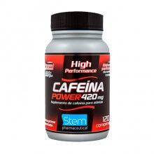 Cafeína Power 420mg (120comp) - Stem