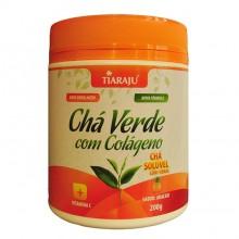 Chá Verde Solúvel c/ Colágeno (200g) - Tiaraju