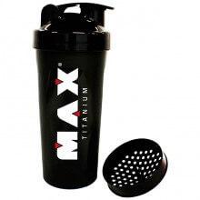 Coqueteleira Shaker Preta (600ml) - Max Titanium