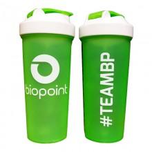 Coqueteleira #TEAMBP (Verde/Branco) (700ml) - Biopoint